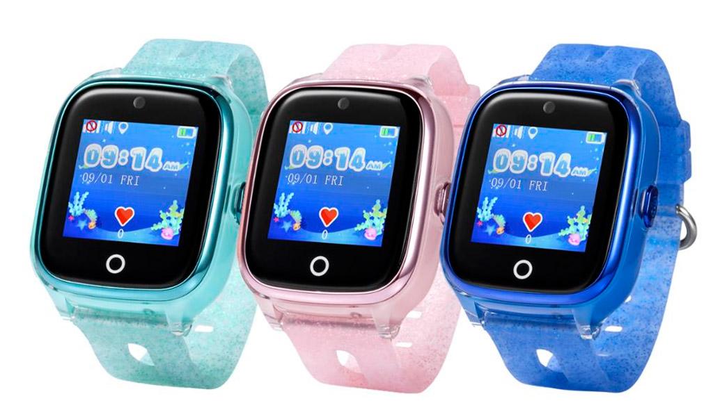 Chiếc đồng hồ chống nước Wonlex KT01, định vị chính xác vị trí của bé.