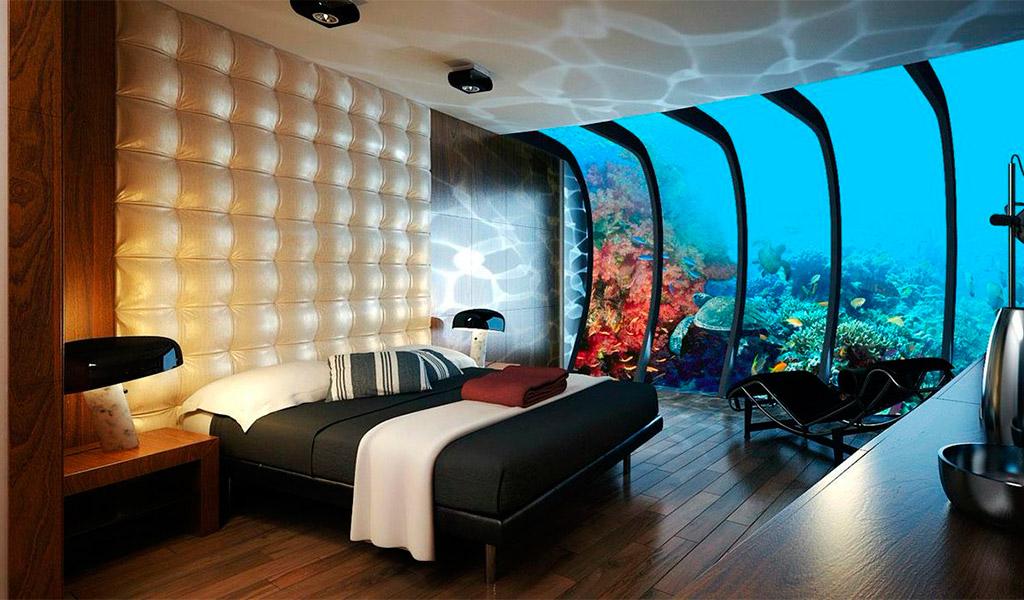 Căn phòng bên trong Poseidon Undersea Resort, Fiji