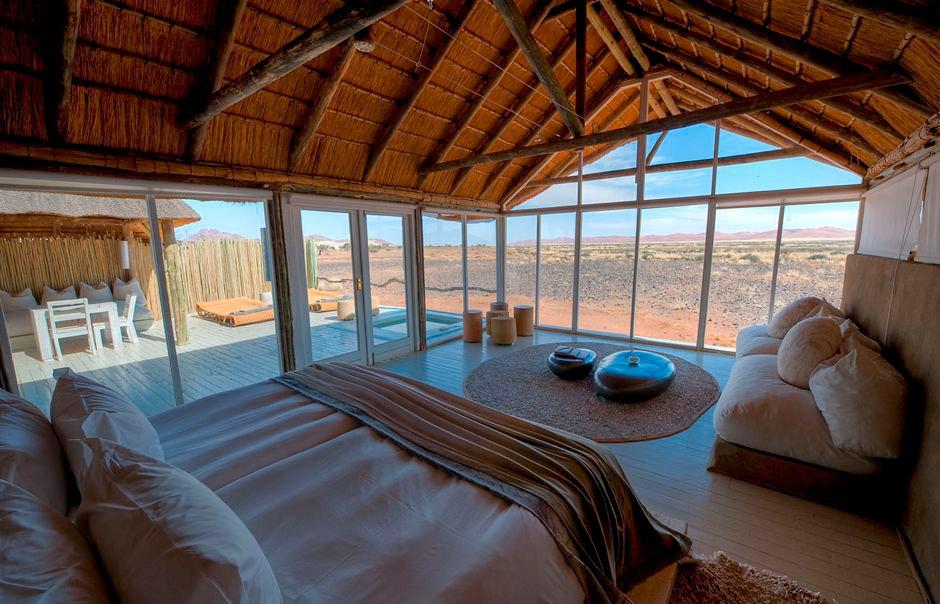 Phòng ngủ ấm áp và thanh bình của Little Kulala.