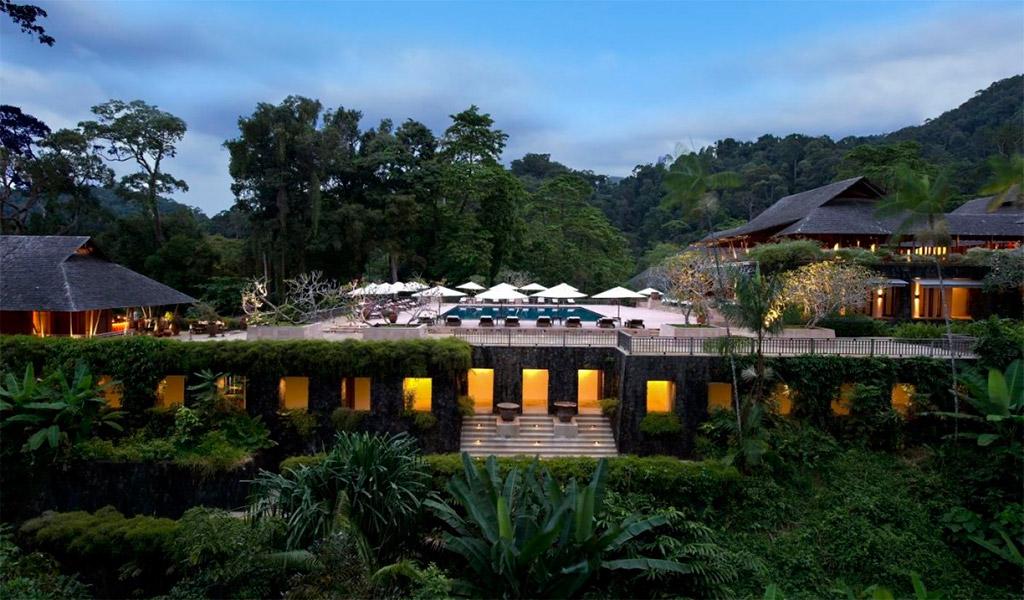The Datai Langkawi, resort giữa rừng như tiên cảnh.