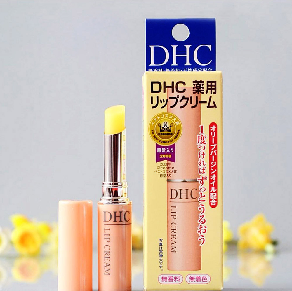 Son dưỡng môi DHC, son dưỡng Nhật Bản hàng đầu.
