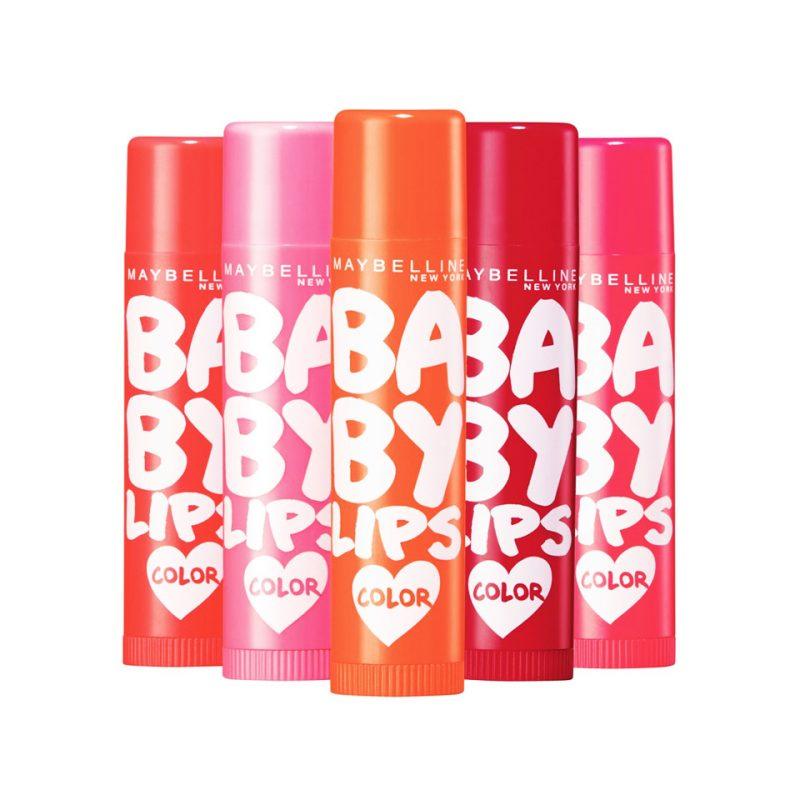 Maybelline Baby Lips New York, son dưỡng ẩm cho môi hiệu quả.