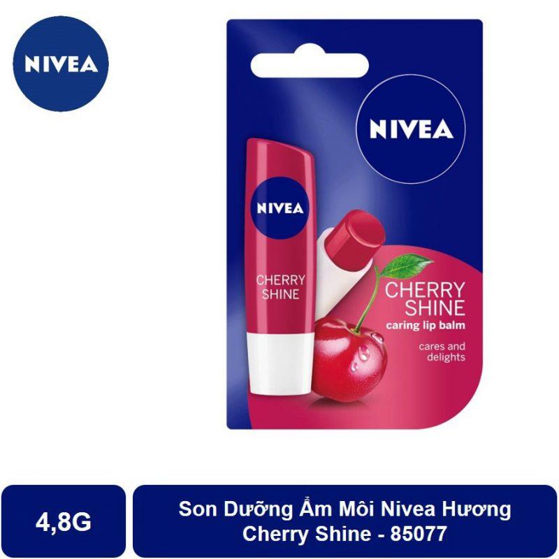 Son dưỡng môi Nivea, son dưỡng tốt giá rẻ.