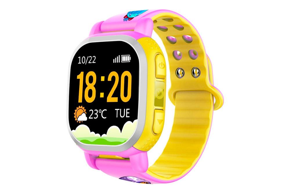 Đồng hồ định vị chống nước QQWatch PQ708, đồng hồ thời trang cho bé.
