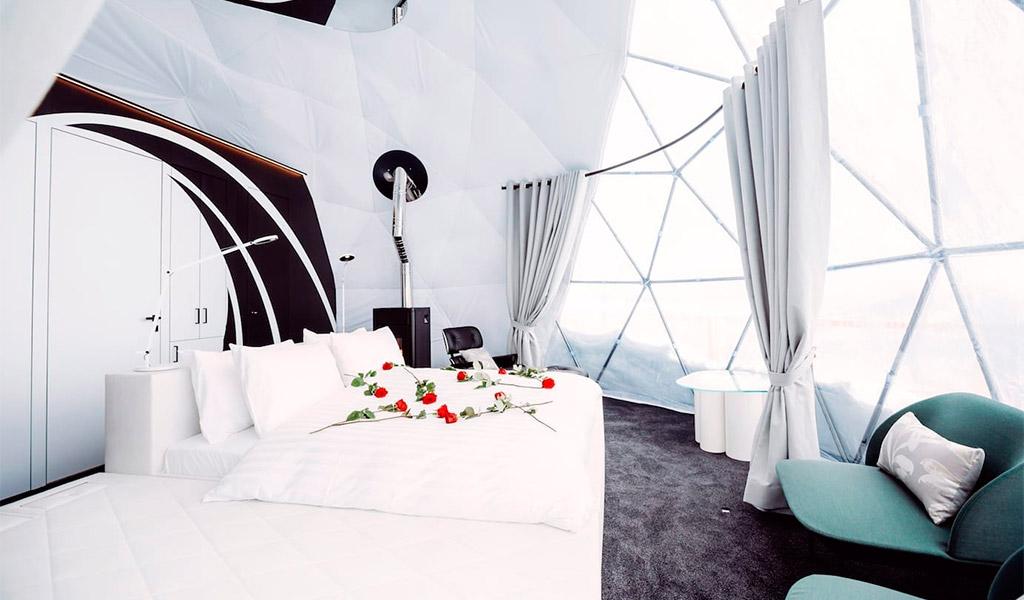 Whitepod Hotel, biến kỳ nghỉ thành trải nghiệm lý tưởng.