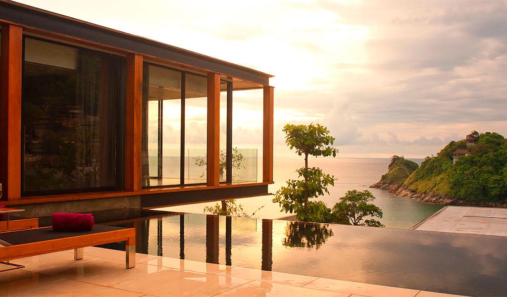 Một phần của khu resort The Naka Phuket, Thái Lan.