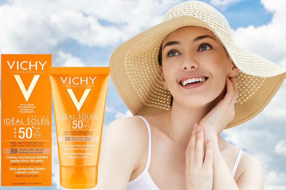 Vichy, kem chống nắng mang lại vẻ đẹp tự nhiên.