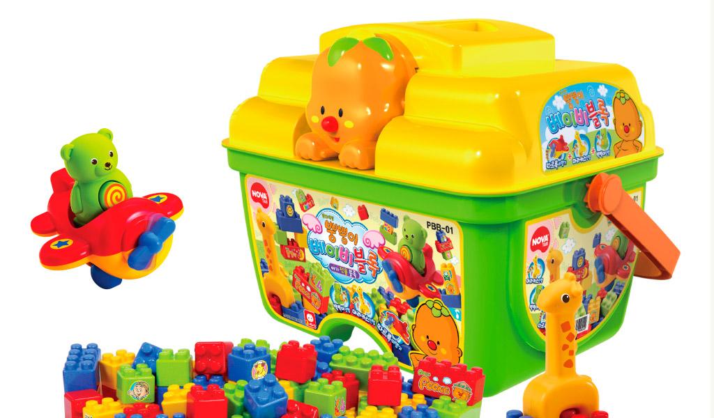 Đồ chơi xếp hình, đồ chơi sáng tạo, thú vị, hấp dẫn
