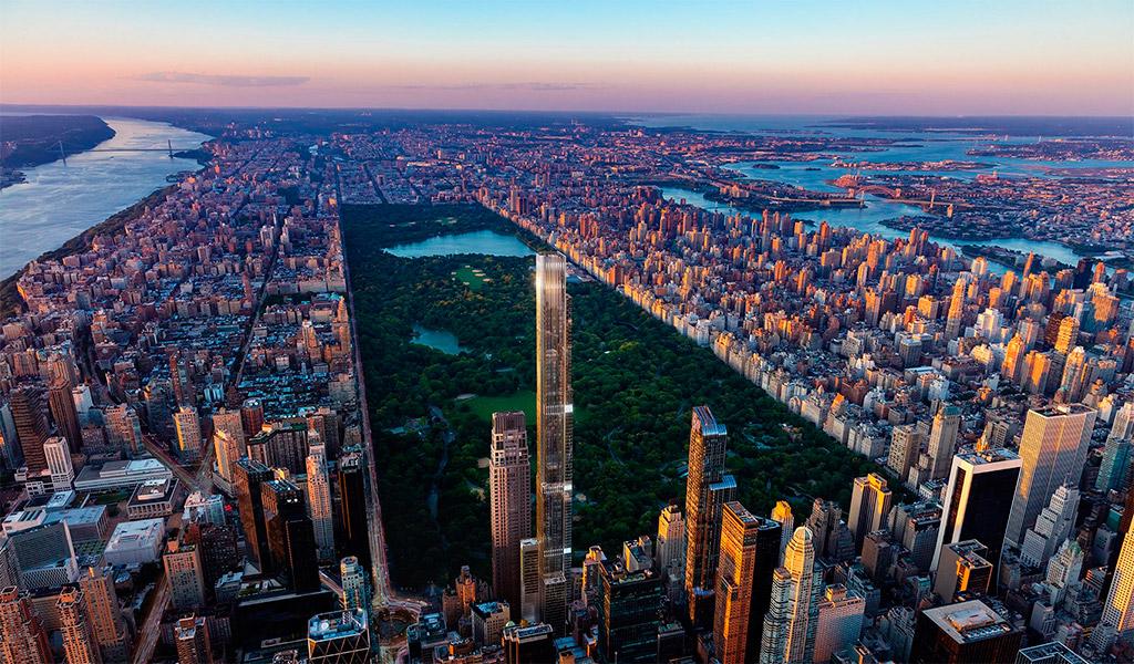 Central Park Tower, cao ốc chọc trời, sang trọng và hiện đại tại Mỹ