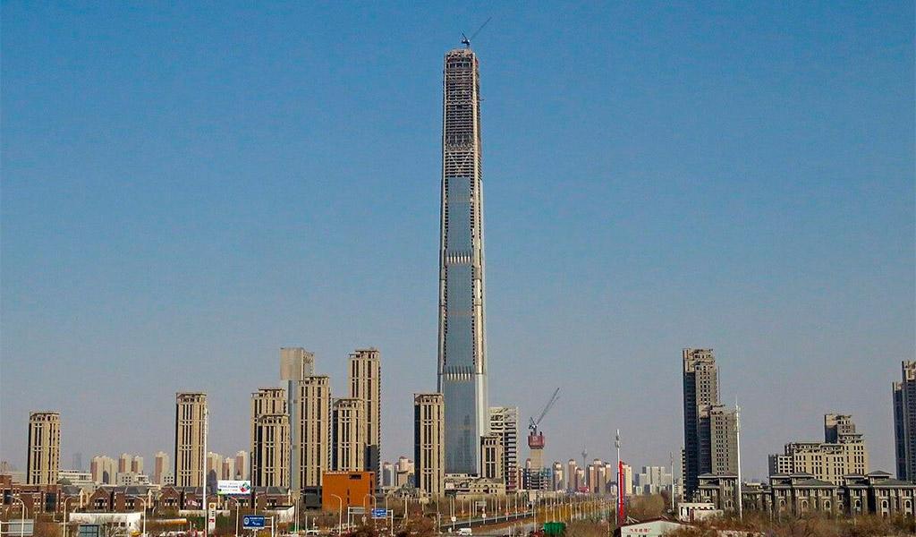 Goldin Finance 117, tòa nhà mái bằng cao nhất thế giới