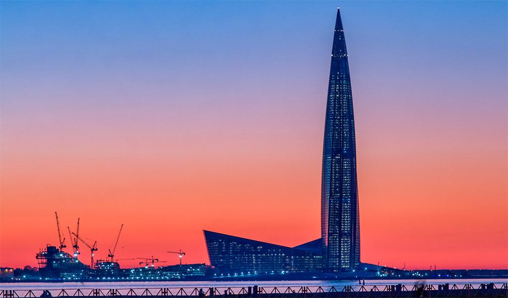 Lakhta Center, tòa nhà chọc trời, cao nhất tại Nga
