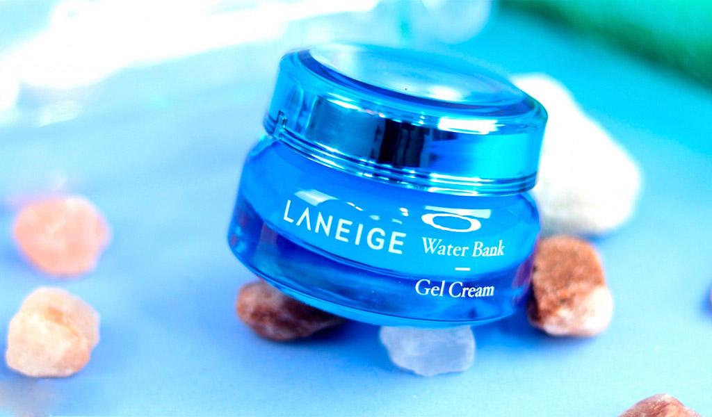 Laneige Water Bank Gel Cream dưỡng ẩm vượt trội.