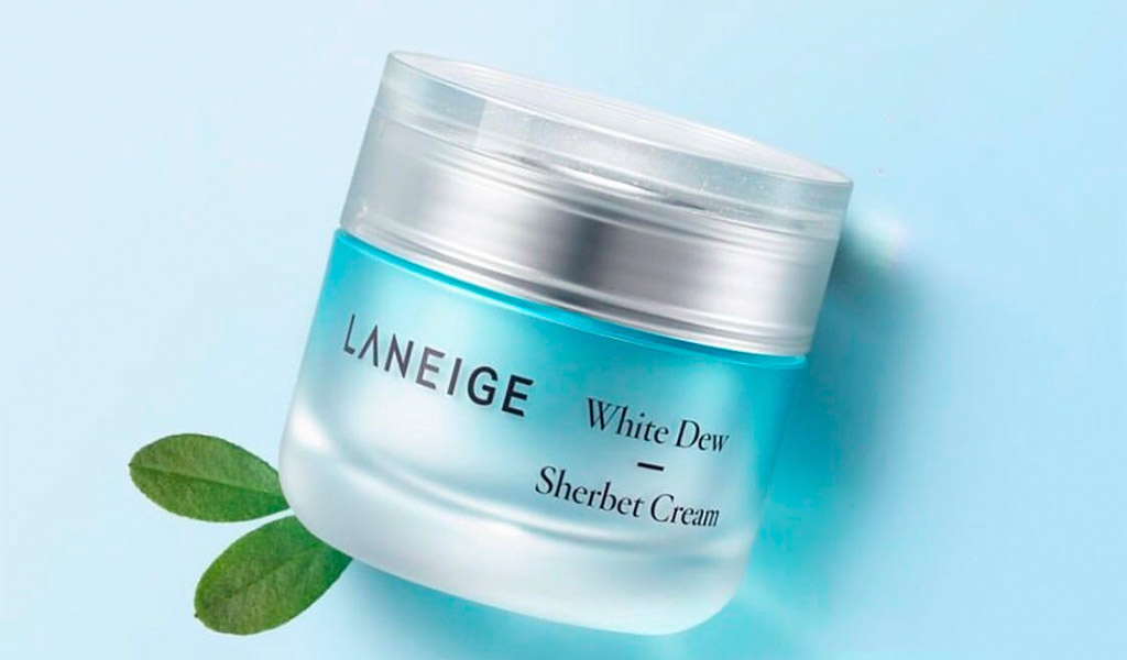 Laneige White Dew Tone Up Cream, kem dưỡng ẩm làm trắng da vượt trội.