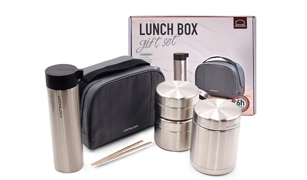 Hộp đựng cơm giữ nhiệt Lock&Lock luôn giữ cho thức ăn được nóng.