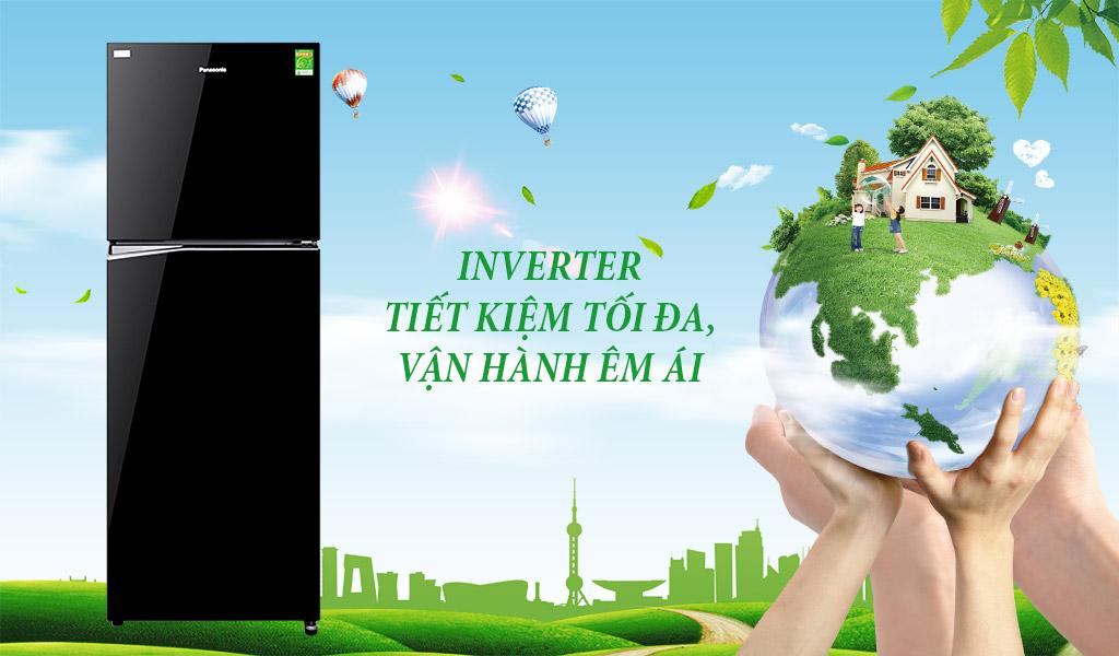Tủ lạnh Panasonic Inverter, tủ lạnh tiết kiệm năng lượng hàng đầu.