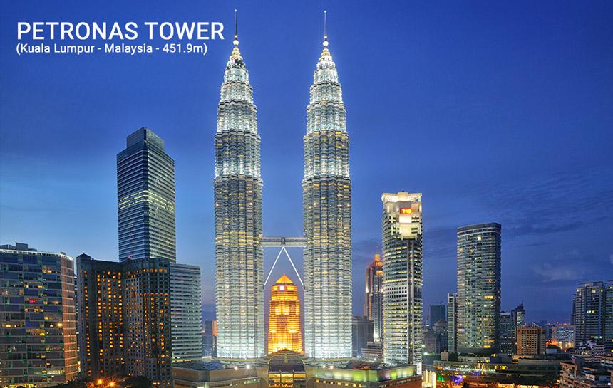 Petronas Tower (Kuala Lumpur - Malaysia)