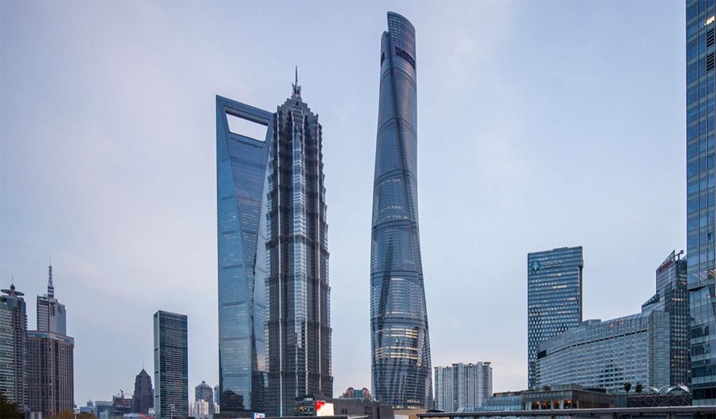 Shanghai Tower, tòa nhà chọc trời tại Thượng Hải, Trung Quốc