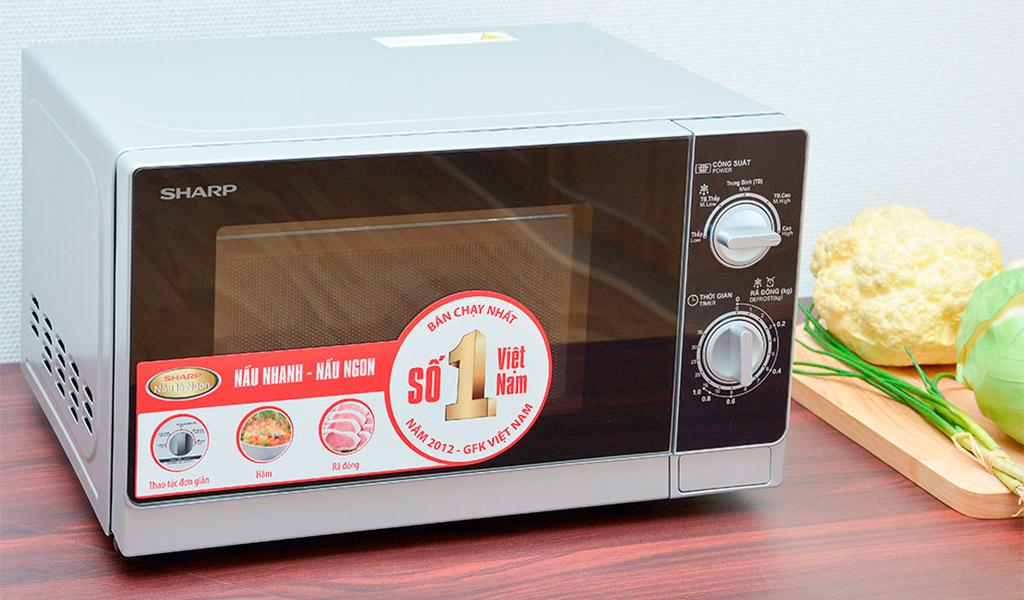 Lò vi sóngSharp R-205VN, chiếc lò vi sóng nên mua.