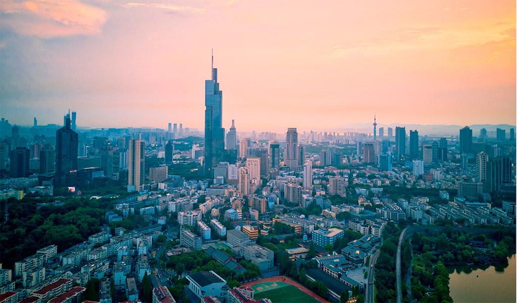 Suzhou IFS, tòa tháp cao, sang trọng