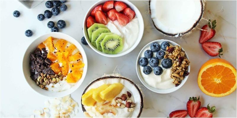 Tạo thói quen ăn vặt bằng sữa chua cũng giúp giảm cân đấy nhé!