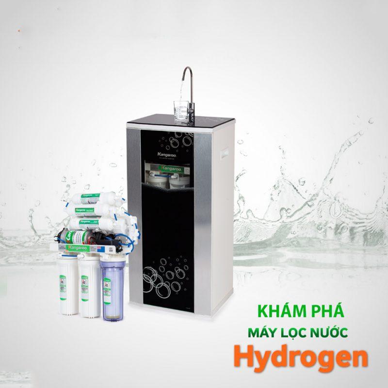 Máy lọc nước chất lượng cao Kangaroo, tiện lợi, an toàn vì sức khỏe người dùng.
