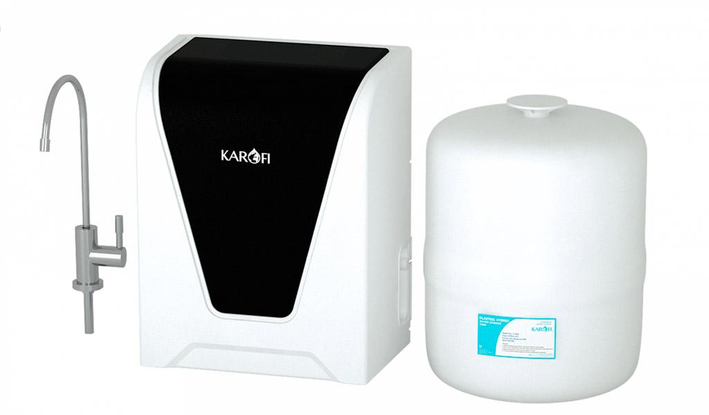 Bền bỉ, tiện nghi, an toàn cùng máy lọc nước Karofi.