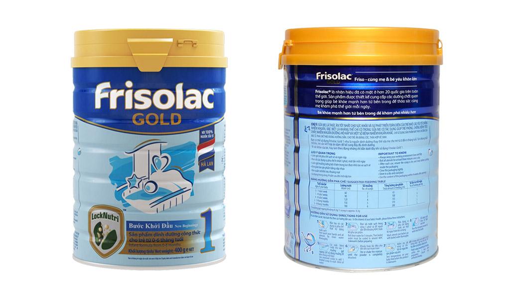 Frisolac Gold, sữa cho bé từ 1-3 tuổi