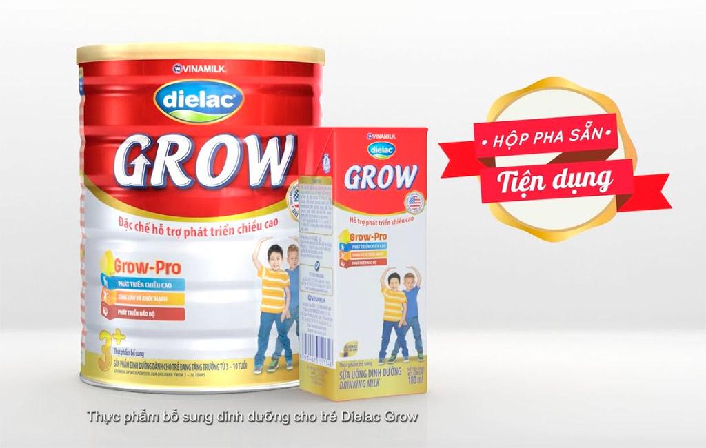 Sữa Dielac Grow, sữa tốt cho bé 1-3 tuổi