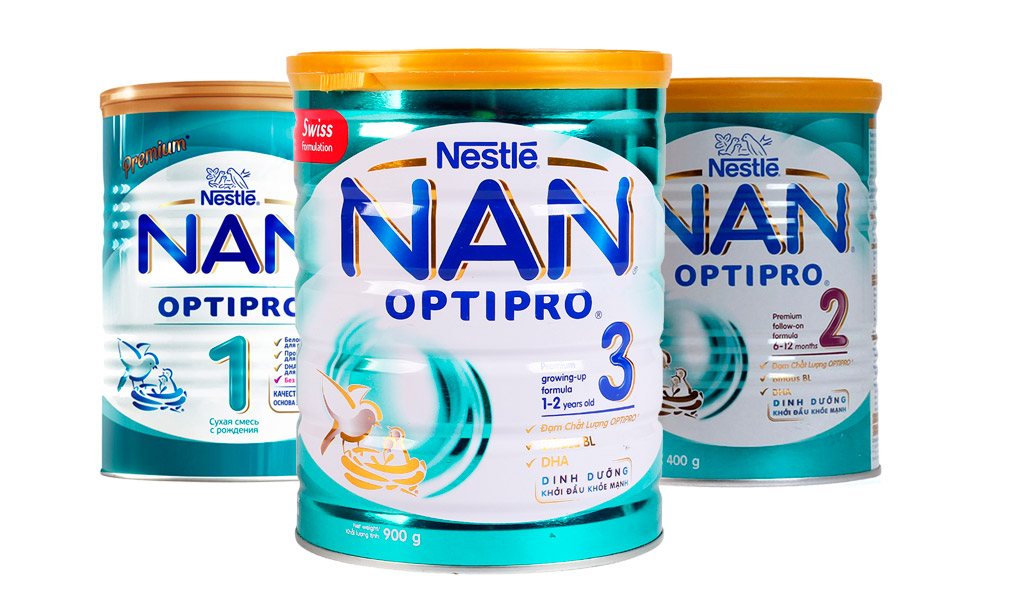 Sữa Nan Optipro của Nestle, sữa tăng cân cho bé.