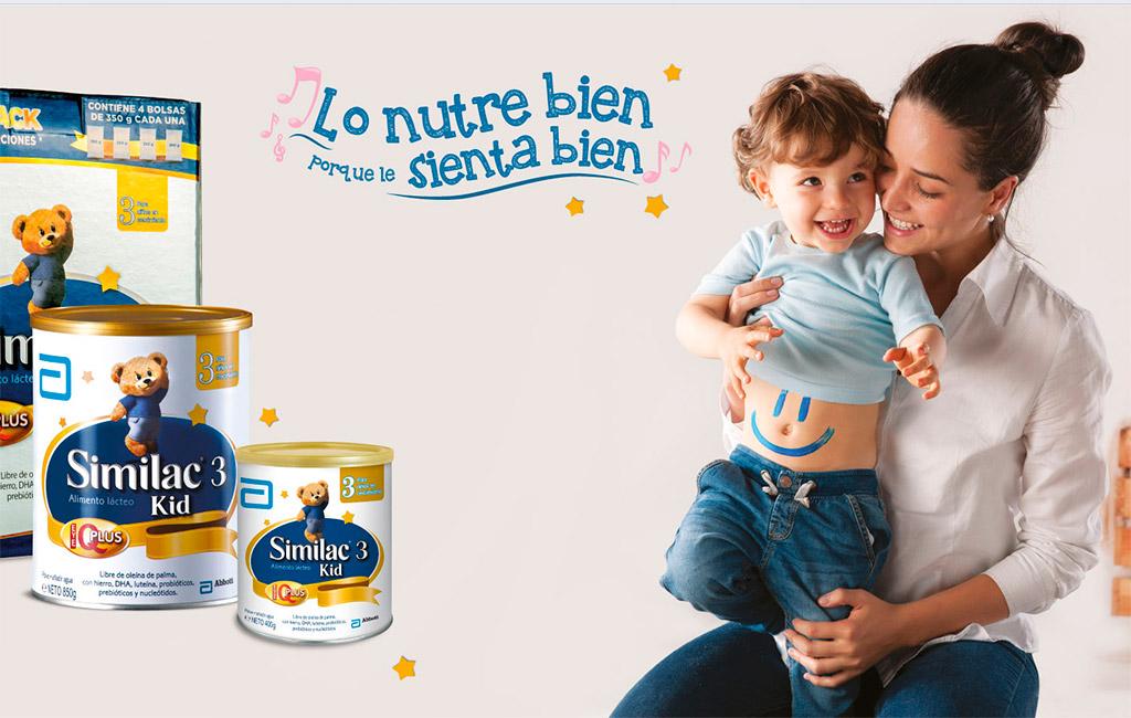 Sữa bột Abbott Similac Gain, sữa tốt cho trẻ nhỏ