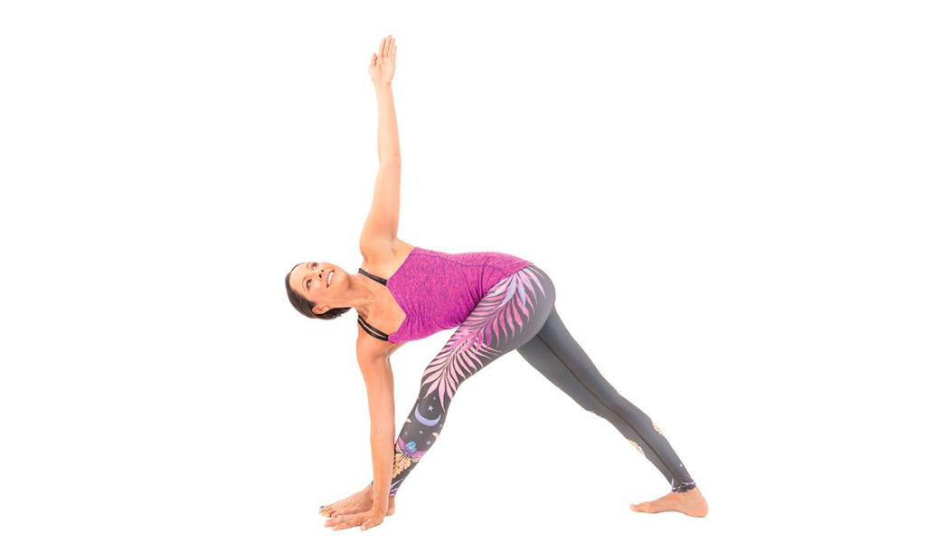 Tư thế tam giác, bài tập yoga thú vị