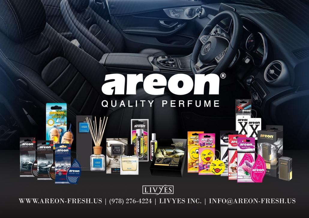 Nước hoa ô tô Areon Car nổi tiếng được xuất xứ từ Bulgaria