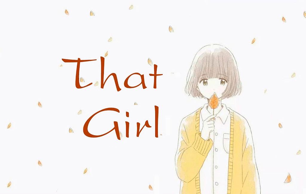 That Girl, bài nhạc trẻ sôi động.