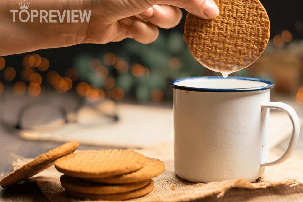 Bánh quy làm từ hạt ngũ cốc nguyên cám rất tốt cho việc giảm cân.
