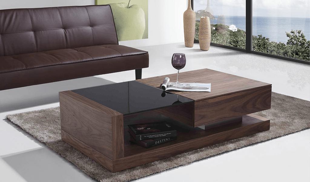 Bàn sofa phong cách hiện đại