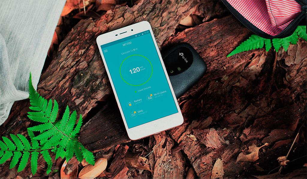 Bộ phát WiFi di động 4G Lte TP-Link M7200 cho tốc độ truy cập nhanh