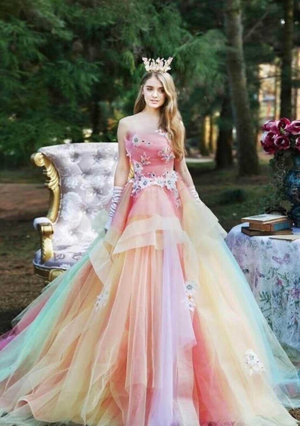 Kiểu áo cưới đẹp phong cách công chúa