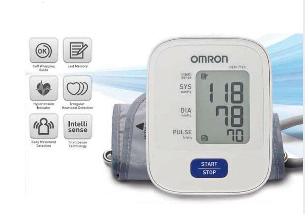 Đo huyết áp Omron HEM-7120