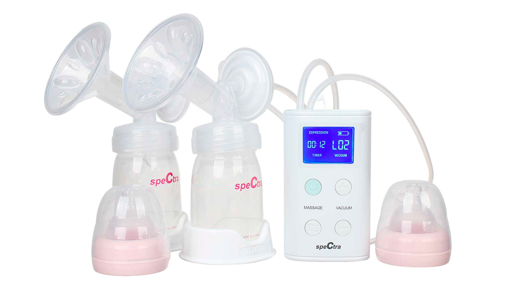 Bình hút sữa tiện lợi Spectra 9 Plus.