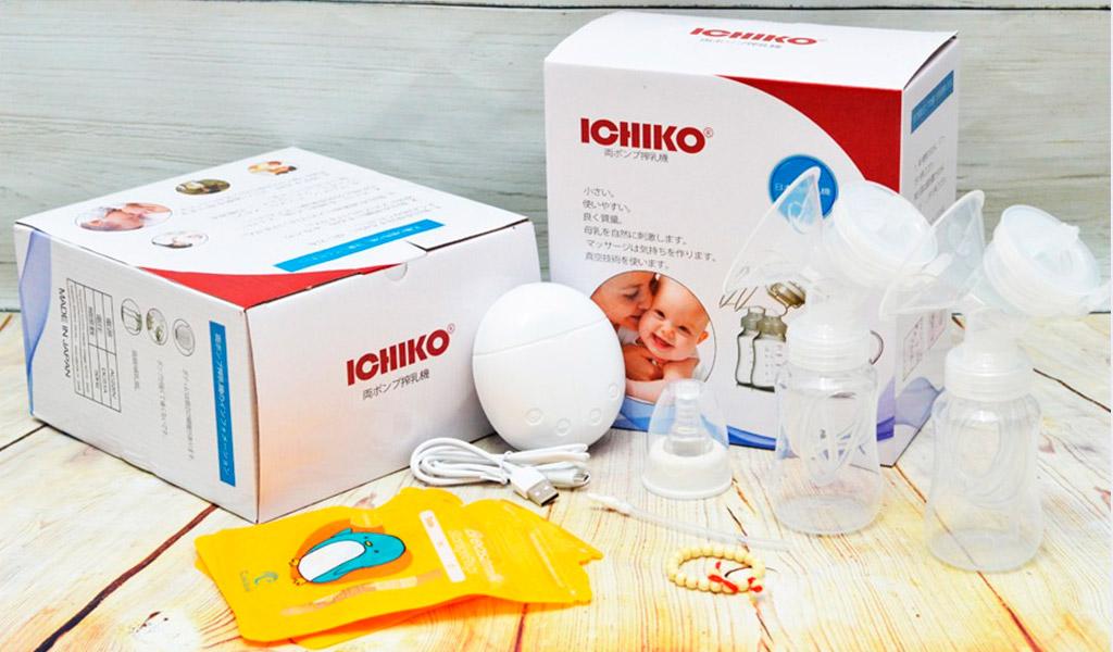 Máy hút sữa điện đôi Ichiko cao cấp