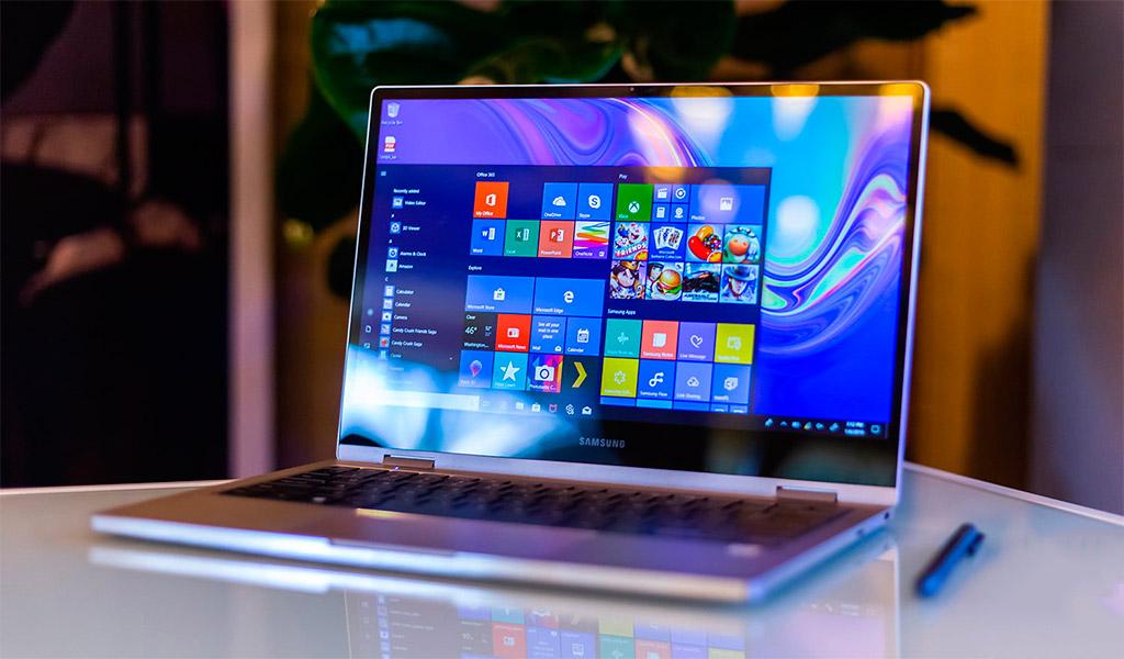 Samsung, chiếc laptop tiện dụng, được ưa chuộng.