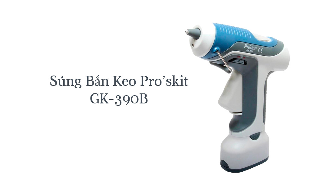 Súng Bắn Keo Pro'skit GK-390B