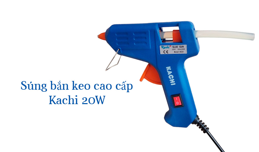 Súng bắn keo cao cấp Kachi 20W