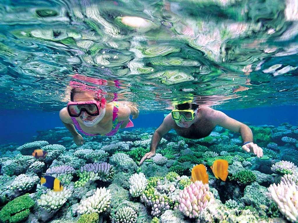 Vùng biển xinh đẹp tại Việt Nam
