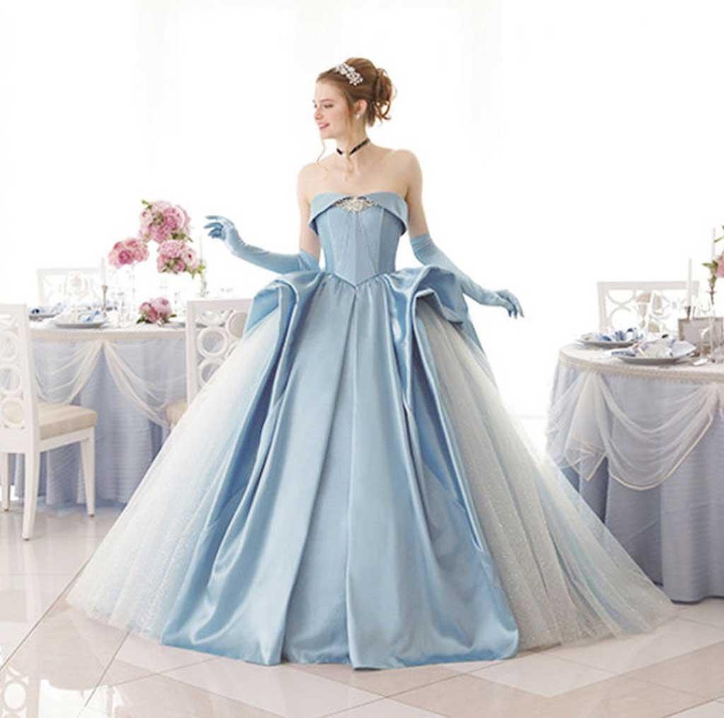 Váy cưới cúp ngực hiện đại