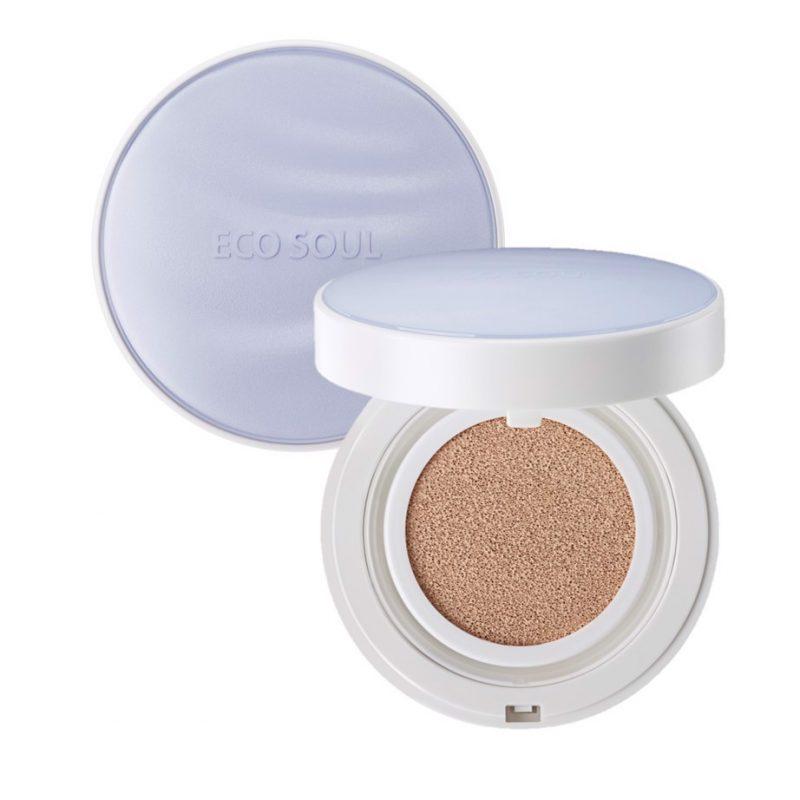 Phấn má hồng The Saem Eco Soul Boumce Cream Blusher