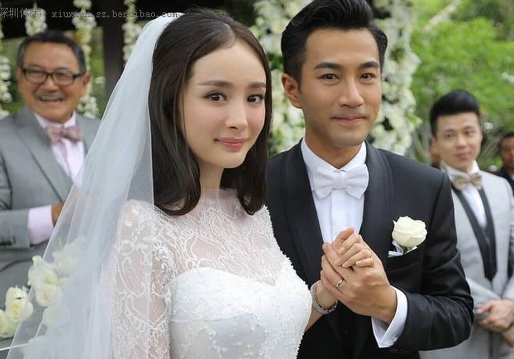 Lưu Khải Uy - Dương Mịch - Hình ảnh ngày cưới của 2 người là động lực cho nhiều người tin vào ngôn tình