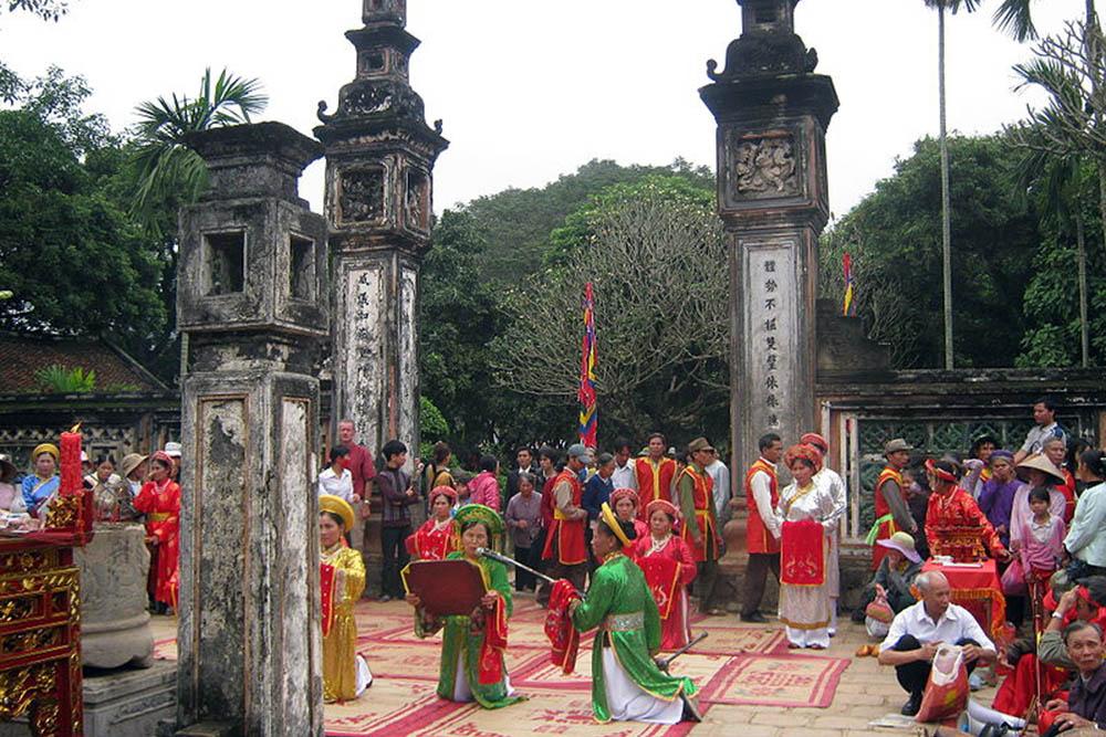 Lễ hội đền Cuông, đậm bản sắc dân tộc.