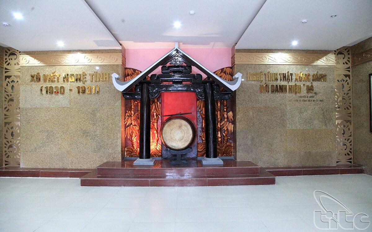 Bảo tàng Xô Viết Nghệ Tĩnh, nơi tưởng niệm những chiến công hào hùng của dân tộc.