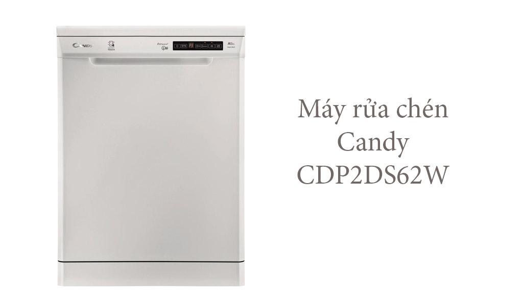 Candy CDP2DS62W hoạt động êm ái, bền bỉ